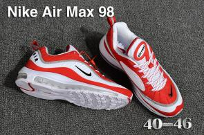 nike air max 98 france prix usine off white red